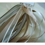 Debbi Moore CREAMS & BEIGE Fancy Ribbons Combo, 5 x 1m