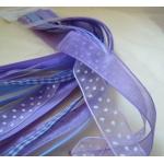 Debbi Moore LILAC & LAVENDERS Fancy Ribbon Combo, 5 x 1m