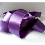 25m Reel. SATIN Ribbon 7mm wide. PURPLE (Col48)