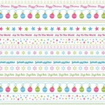 12 x 12 Background Paper, Candy Christmas Borders