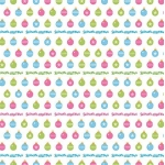 12 x 12 Background Paper, Candy Christmas Baubles