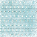 12 x 12 Background Paper, Snowmen on Ice Blue