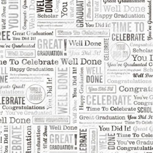 12 X 12 Background Paper, CONGRATULATIONS, Graduation ...