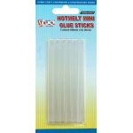 12 Mini Hotmelt GLUE STICKS 7.2mm x 100mm